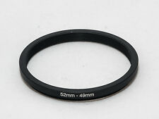 52mm - 49mm Stepping/Step Ring - Lens/Photography Ring