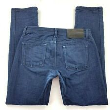 Naked & Famous Mens Weird Guy Jeans Blanket Lined Blue Button Fly Cotton 32 X 33