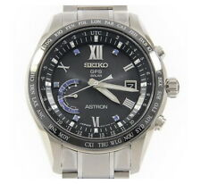 Seiko Astron Solar GPS Titanium Sapphire Markers Limited Men's Watch SSE117
