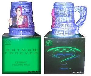 Batman Forever Ceramic Figural Mug Two Face Applause Collectable Cup NEW