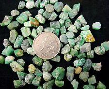 2 Verde Esmeralda Berilo & Biotita Matriz Raw Natural Cristal Mineral Specimen