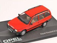 OPEL KADETT E ESTATE in Red 1/43 scale model ALTAYA