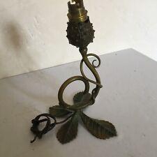 #Pied de Lampe marronnier Art Nouveau ( Muller daum Majorelle ......)