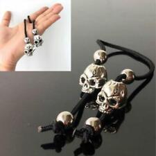 Skull Head Stainless Steel Begleri Fidget Toy Finger Skill Toy Worry Beads LD