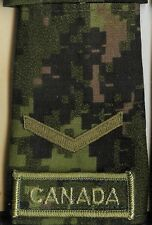 Obsolete Modern Canadian Army CADPAT Private Trained Epaulette - M