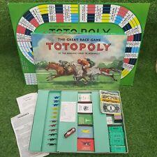 John Waddington TOTOPOLY The Great Race Vintage Board Game