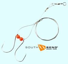 South Bend Sturgeon Rig - Two 6/0 Hooks & 36-inch Wire Leader ( # STGR-60 )