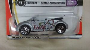Matchbox 2001 Concept 1 Beetle Convertible Daddy's Dream Volkswagen 1 of 75 cars