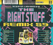 "THE RIGHT STUFF REMIX 89 TECHNOTRONIC BEATMASTERS S'EXPRESS 2X CASSETTE 28 12"""