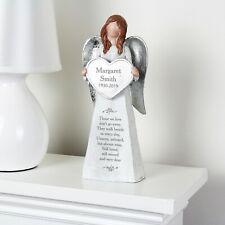 Personalised Memorial Angel Ornament Remembrance In Loving Memory Gift