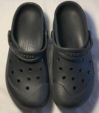 Men's CROCS Black Shoes Clogs Size 13 FREE SHIPPING