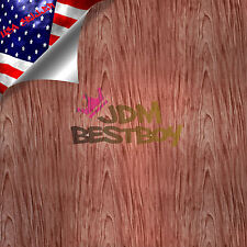 "19""x38"" Hydrographic Film Hydro Dipping Dip Water Transfer Wood Grain Print #1"