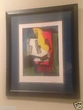 "PICASSO Lithograph from Collection Domain ""Still Life with Guitar"" #57 of 500"