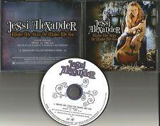 JESSI ALEXANDER Make me Stay or Go PROMO DJ CD Single Miley Cyrus 2004 USA MINT