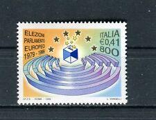 Italia 1999 20°anniversario prime elezioni del Parlamento Europeo MNH