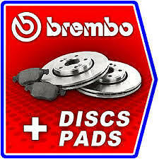 HONDA CIVIC FRONT GENUINE BREMBO BRAKE DISCS 282MM AND PADS SET 2006 - ONWARDS