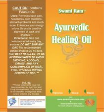 Ayurvedic Healing Oil 8oz -Removes Pains & Aligns Chakra Energy Points Naturally