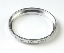 For Rolleiflex 75mm Lens To B39mm Filter Ring