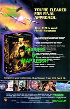 Babylon 5 - 5th & Final Season Dvd Release Print Ad
