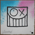Mr Andre Saraiva Mr A & Miss A OX Edition Screen Print Signed #/50 Poster Street
