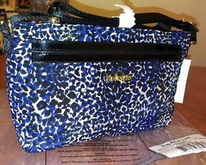 Kipling Jude leopard print crossbody zipper bag color patent combo NEW $99