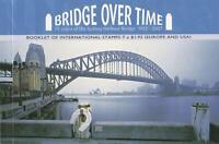 BRIDGE OVER TIME PRESTIGE STAMP BOOKLET AUSTRALIA  SYDNEY HARBOUR BRIDGE - MINT