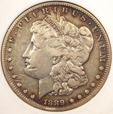 1889-CC Morgan Silver Dollar $1 - ANACS XF Dets Net VF20 - Rare Carson City Coin
