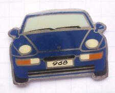 PORSCHE 968 / blau  ................... Auto-Pin (129f)