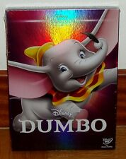 DUMBO-DVD-CLASICO DISNEY Nº4 -NUEVO-PRECINTADO-NEW-SEALED-FUNDA DE CARTON