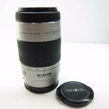 Objectifs Konica Minolta pour appareil photo et caméscope