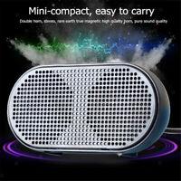 USB Stereo Lautsprecher Speaker Mini Audiogerät, Powerful Sound-Qualität,