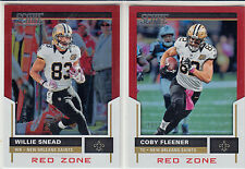 2017 Score Willie Snead Red Zone New Orleans Saints 10/20