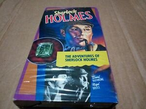 The Adventures Of Sherlock Holmes Ntsc full carton, basil rathbone b/w 1939