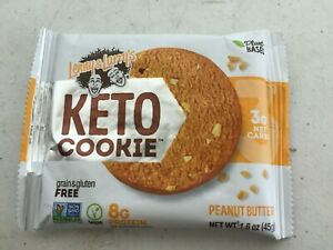 100 Lenny & Larry's  Keto Cookies Peanut Butter protein energy nutrition