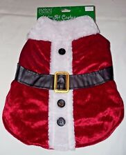 Santa Claus Costume Medium Dog NEW 13-20 pounds St Nick's Choice Christmas