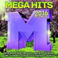 MEGAHITS 2016-DIE ZWEITE (The Bosshoss, Justin Bieber, Selena Gomez) 2 CD NEU