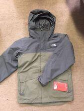 NEW The North Face Boyss GORDON LYONS TRICLIMATE Jacket Green 3 in 1 Medium