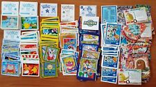 GRANDE LOTTO 500 FIGURINE STIKERS E CARDS POKEMON MERLIN DIGIMON GIOCHI PREZIOSI