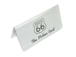 Corvette Highway Route 66 Checkbook Cover