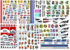 All-Stars Decal Pack A | Best Selling Mix for Hot Wheels & 1:64 Scale Model Cars
