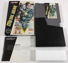 Metal Gear (Nintendo NES) Complete CIB