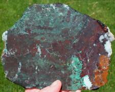 CHRYSOCOLLA, SLAB 440 grams jasper/agate/rough/minerals/metal/cab/gem/specimen