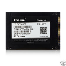 "Zheino 2.5"" IDE PATA 32GB SSD FOR DELL D610  D810 inspiron 9300 HP V2000 IBM PC"