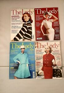 THE LADY MAGAZINE  4 Copies, Various Issues Dates/Months  2020