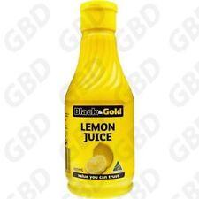 12x BLACK & GOLD JUICE LEMON 250ML