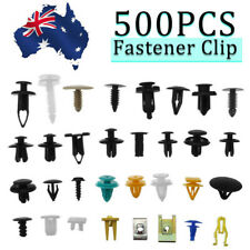AU 500pcs Car Mixed Fastener Clip Bumper Fender Trim Plastic Rivet Door Panel