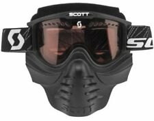 Scott 83X Safari Goggles Facemask w/ Rose Dual Lens/Anit-Fog 218166-0001108