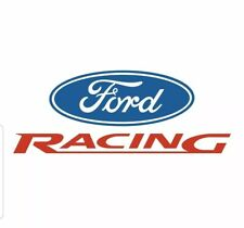 Ford Racing decal Free Shipping Size and color options car truck window iPhone
