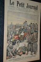 Le petit journal Supplément illustré N°734 / 11-12-1904 / Automobile Manchourie