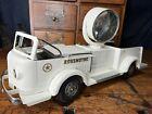 VTG Doepke Searchlight Rossmoyne White Fire  Truck Pumper Style 1950's Steel LTD
